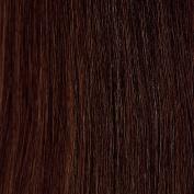 Euronext Premium Remy Human Hair 46cm Clip In Extensions Dark Brown