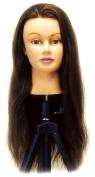 Celebrity Lauren Cosmetology Human Hair Manikin, 24-70cm