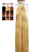 Hair Extensions 60cm Burgati I-Tip AAA European Human Remy Hair Extensions 100 Strands