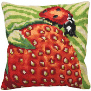 Garriguette Pillow Cross Stitch Kit-38cm - 1.9cm x 40cm