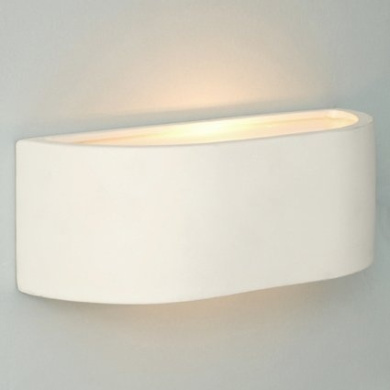 Pair of Modern Planter Style White Ceramic Wall Lights by MiniSun - Shop Online for Homeware in ...