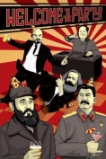 Welcome to the Party-Communist Leaders, Comedy Poster Print, 60cm by 90cm