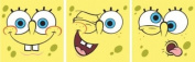 Decofun, Spongebob Art Squares, Self Adhesive Stickers, Set of 3