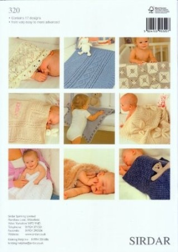 Sirdar Knitting Pattern Books : Sirdar Knitting Pattern Book - The Baby Blanket Book. Delivery is Free eBay