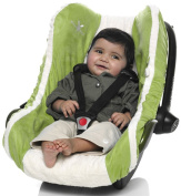 Infant Car Seat Cover (Lime)