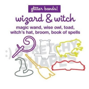 Stretchy Shapes Shaped Rubber Bands Bracelets 24Pack Wizard Witch