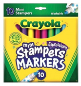 Crayola Mini-Stampers Expressions - 10 Ct.