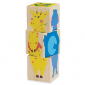 Manhattan Toy Mix 'Em Up Safari Blocks