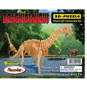 Brachiosaurus Dinosaur 3D Woodcraft Construction Kit