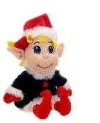 Plush Santa's Secret Elf Girl 28cm