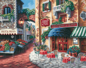 "Paint By Number Kit 50cm X16""-Taste Of Italy"