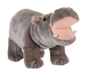 Plush Standing Hippo 36cm