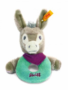 Steiff Issy Donkey Grip Toy with Rattle