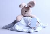 Teddykompaniet - Alf - Rabbit Comfort Blanket
