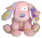 Label Lovies by Rainbow Designs Little Lovey Pink Puppy
