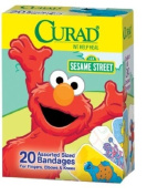 Curad Sesame Street Bandages 20-Count