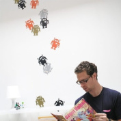 Blik Restik Robots Wall Sticker
