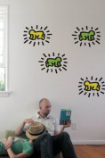 Blik Radiant Baby Wall Stickers By Keith Haring