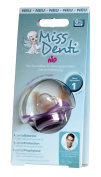 "nip ""Miss Denti"" dental Soother - 0-6 Months - Special orthodontic soother - Metallic Blue"