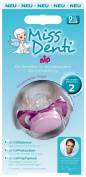 "nip ""Miss Denti"" dental Soother - 5-13 Months - Special orthodontic soother - Light Blue"