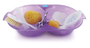 DBD Remond 305922 Toiletry Set Translucent Purple