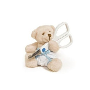 Teddy Nail Scissors Blue