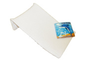 Baby Best Buys Towelling Baby Bath Support Plus Bath Book : Colour WHITE