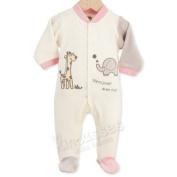 Newborn sleepsuit Come playing with me ! - French Quality Brand