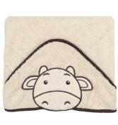 Happy Bath Hooded Towel Happy beige 100x100 cm