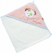 Fehn Beauty Sleep Teddy Hooded Bath Towel