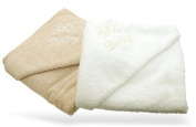 Hooded Cotton Baby Bath Towel - Smooth Latte