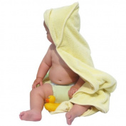 Close Pop-In Custard Hooded Towel