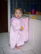 Slumbersac Baby/Toddler Bath Poncho Towel Pink Fairy