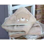 Teddy & Ele Supersoft 100% organic cotton Cuddle Robe