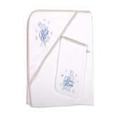 Peter Rabbit Hooded Towel and Wash Mitt