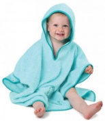 Cuddledry Aqua Baby Bath Poncho Towel, Towels, Babies