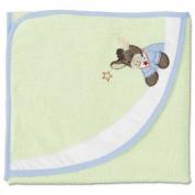 Sterntaler 16214 - Hooded Towel 100x100 cm Emmi light green