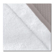 RedCastle apron bath towel, white taupe