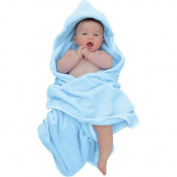 Red Castle Hooded Towel and Mitt with Trim