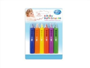 6 Baby Bath Crayons for Doodling In/On Bath Tub