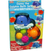 Cute Danny The Dolphin Bath Set