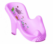 Hippo Baby Bath Support Lilac
