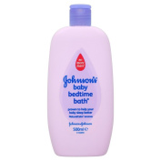 Johnson's 500ml Baby Bedtime Bath - Pack of 2