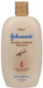Jonnson & Johnson Baby Wash Vanilla Oatmeal 445 ml