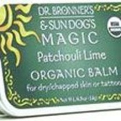 DR. BRONNER'S MAGIC SOAPS, Sun Dog's Organic Body/Tattoo Balm Patchouli Lime ...