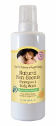 Earth Mama Angel Baby Natural Non-Scents Shampoo & Body Wash, 1010ml