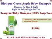 Biotique Green Apple Tearproof Organic Baby Shampoo Cleanser for Hair & Scalp 210ml.