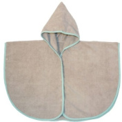 Babycalin BBC302302 Poncho for Age 18 Months Microfibre Taupe