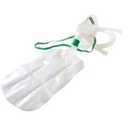 A Quality Non Re-Breathing Oxygen Mask With Nose Clip and Tubing NHS Standard
