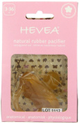 Hevea Flower Orthodontic Pacifier for 3 Plus Months